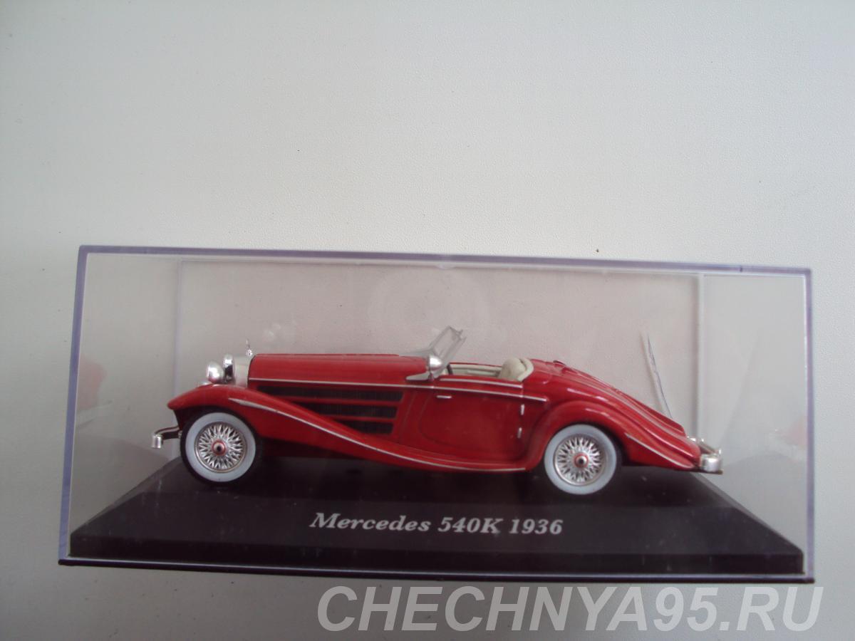 Автомобиль Mercedes Benz 540K 1936,  Липецк