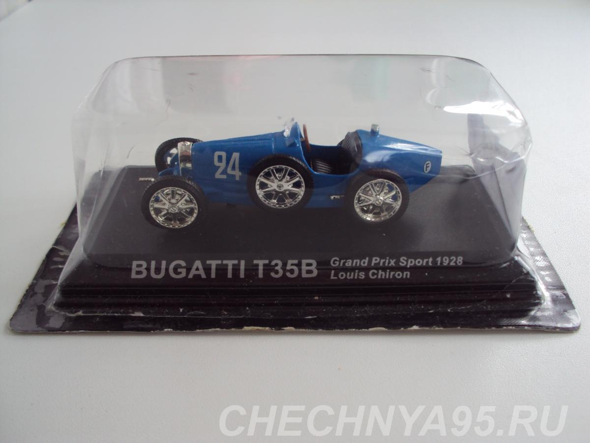 Автомобиль BUGATTI T35B Grand Prix Sport 1928,  Липецк