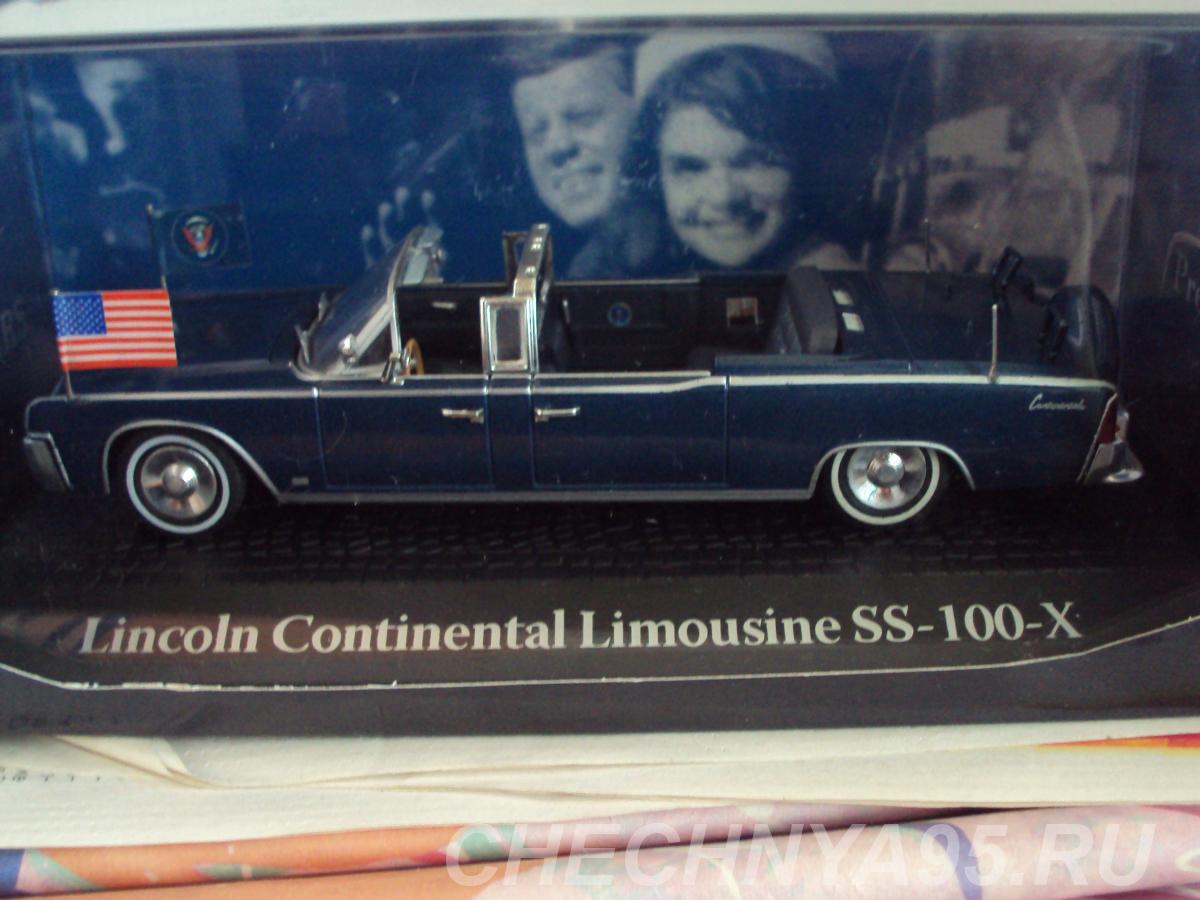 Lincoln Continental Limousine SS-100-X,  Липецк